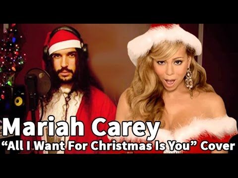 Cover Of Mariah Carey All I Want For Christmas Is You Ten Second Songs 20 Style Christmas Cover If You Don T Have A Sens Mariah Carey Songs Music Mood