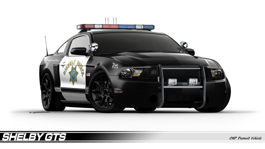 mustang gt 500 police car shelby gts police interceptor concept imagined outstanding. Black Bedroom Furniture Sets. Home Design Ideas
