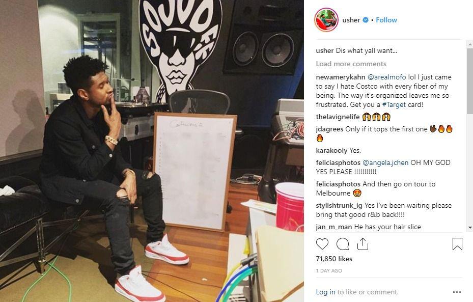 Usher Teases Confessions 2 Album Is Coming Jermaine Dupri