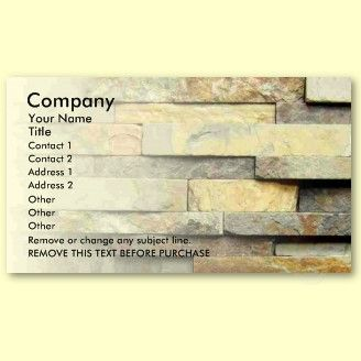 Stone masonry tile mosaic business cards large selection of stone masonry tile mosaic business cards large selection of custom stone colourmoves