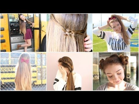 Strange 1000 Images About Back To School Hairstyles On Pinterest Easy Short Hairstyles For Black Women Fulllsitofus