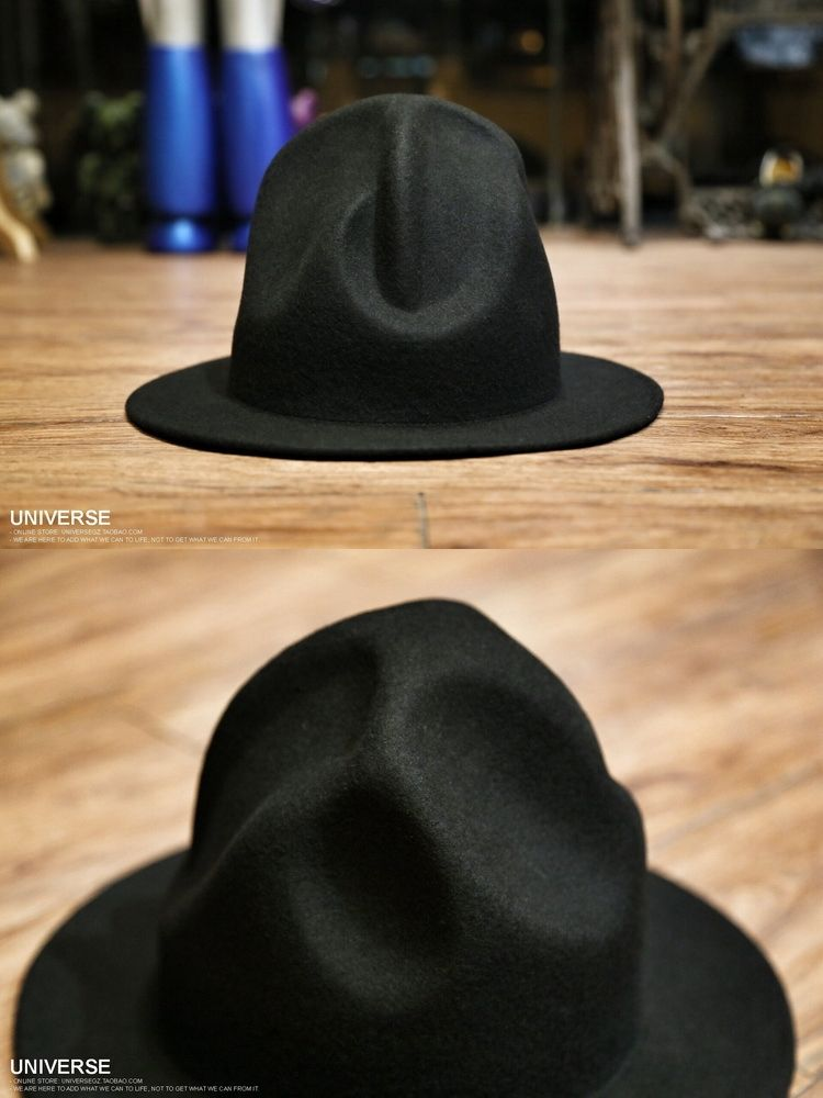 200dfb32270 2015 Brand New Fashion Women Men 100% wool Felt Mountain Hat Pharrell  Williams westwood Celebrity