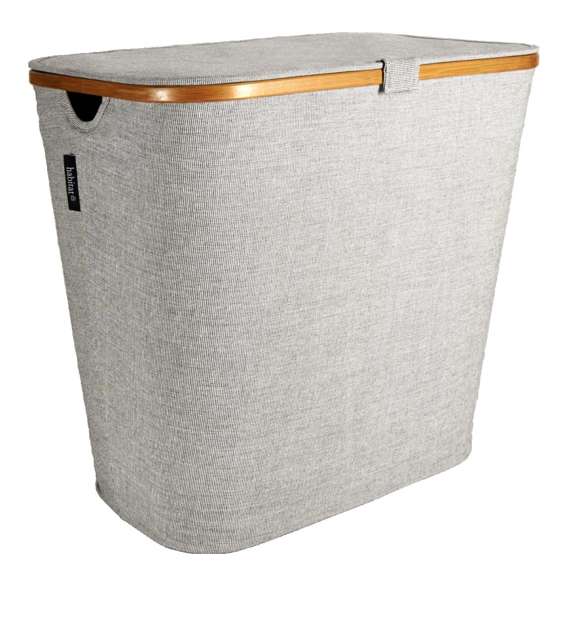 Barnabe Grand Panier A Linge En Toile Large Laundry Basket