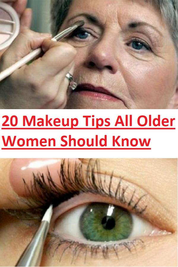 20 Makeup Tips All Older Women Should Know Slideshow In 2020 Makeup Tips For Older Women Makeup Tips Eye Makeup Tips