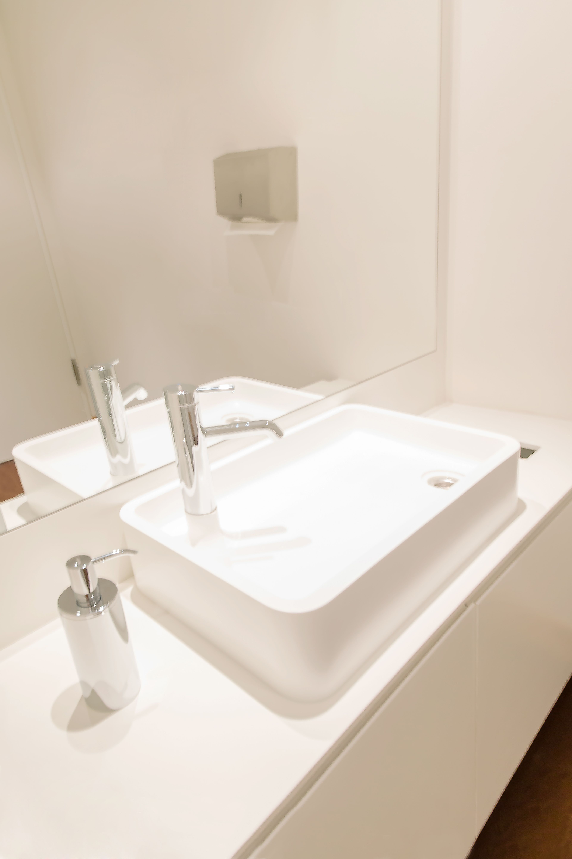 Freihangender Waschtisch Mit Mineralwerkstoffbecken Tisch Gestalten