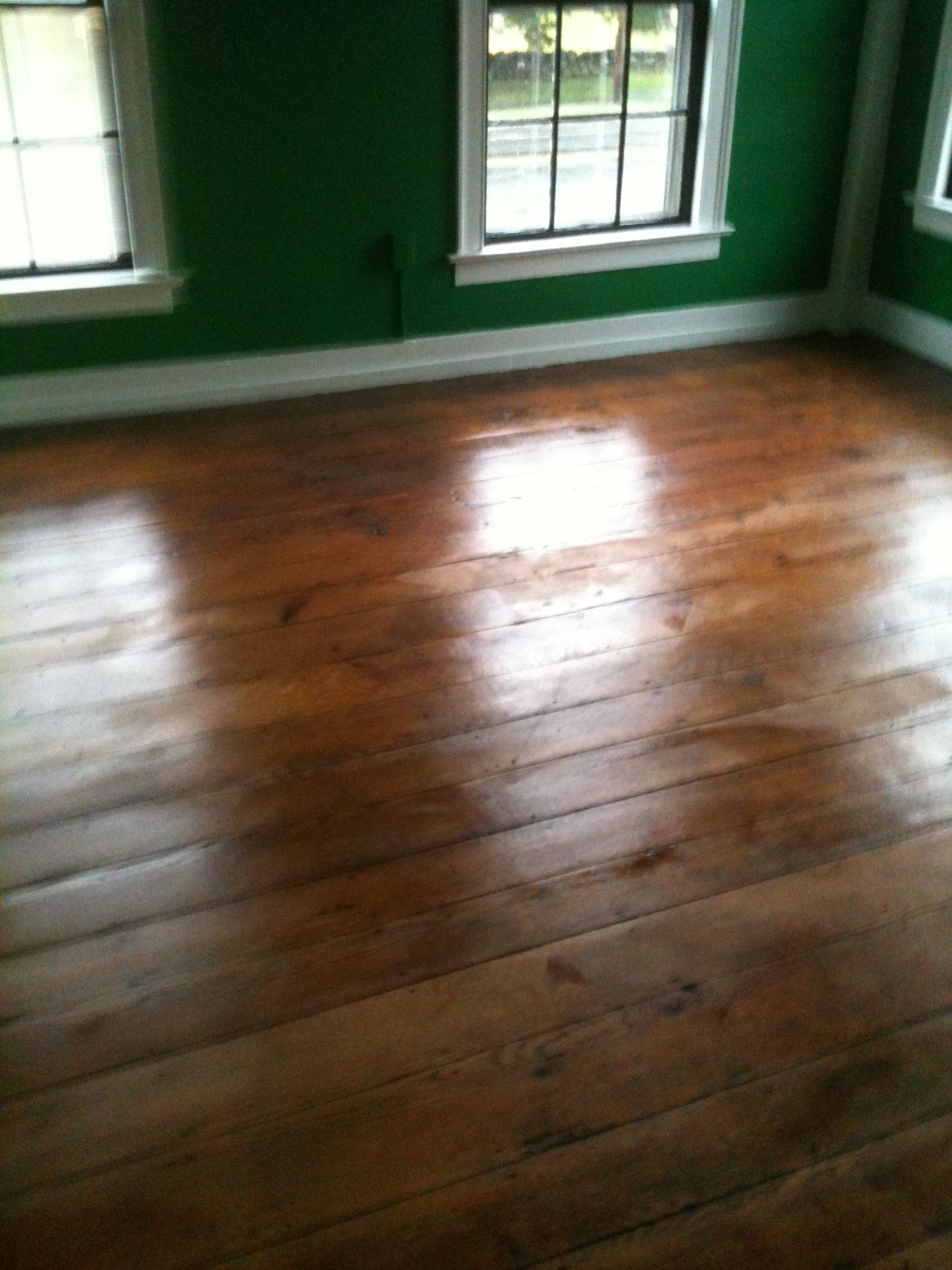 Reviving The Chestnut Floors With Minwax Floor Reviver This