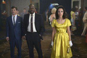 Timeless Bosses Talk Casting Abe Lincoln Nixing Marilyn Monroe Timeless Series Timeless Matt Lanter Timeless