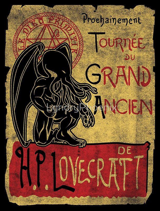 """Tournee du grand ancien"" Posters by LgndryPhoenix | Redbubble"