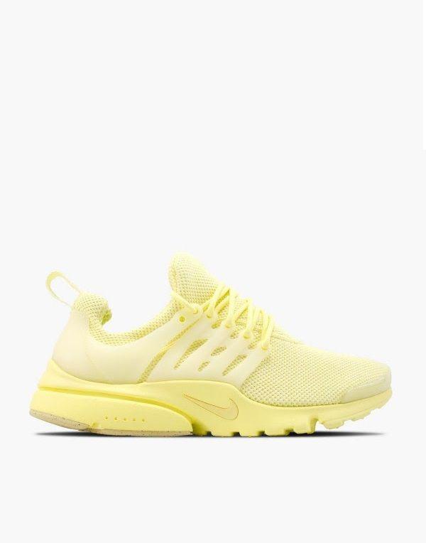 Nike Air Presto Ultra Baby Yellow Yellow Sneakers Nike Air Presto Nike