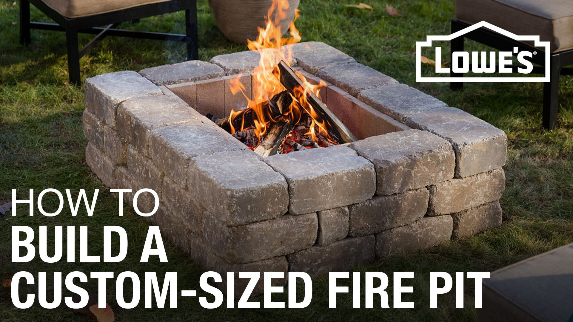 How to Build a Custom Fire Pit Square fire pit, Custom