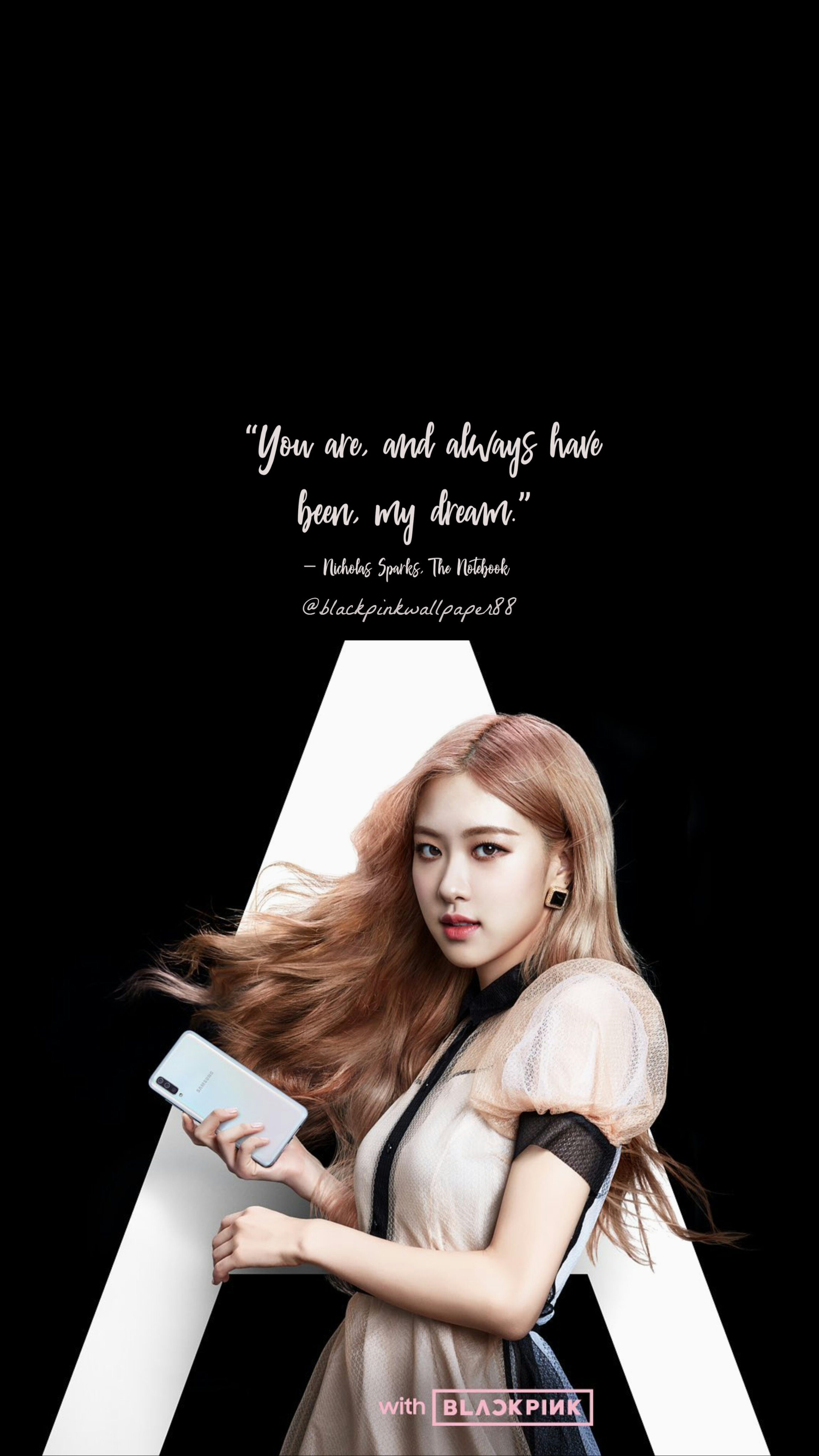 Rose Blackpink Wallpaper Garotas Samsung