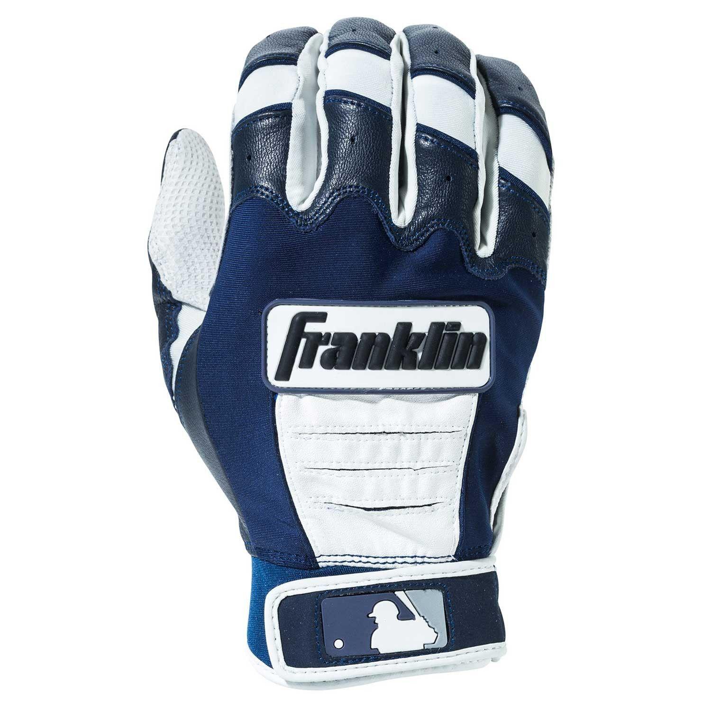 Franklin Mlb Cfx Pro Youth Batting Gloves Pearl Navy Batting