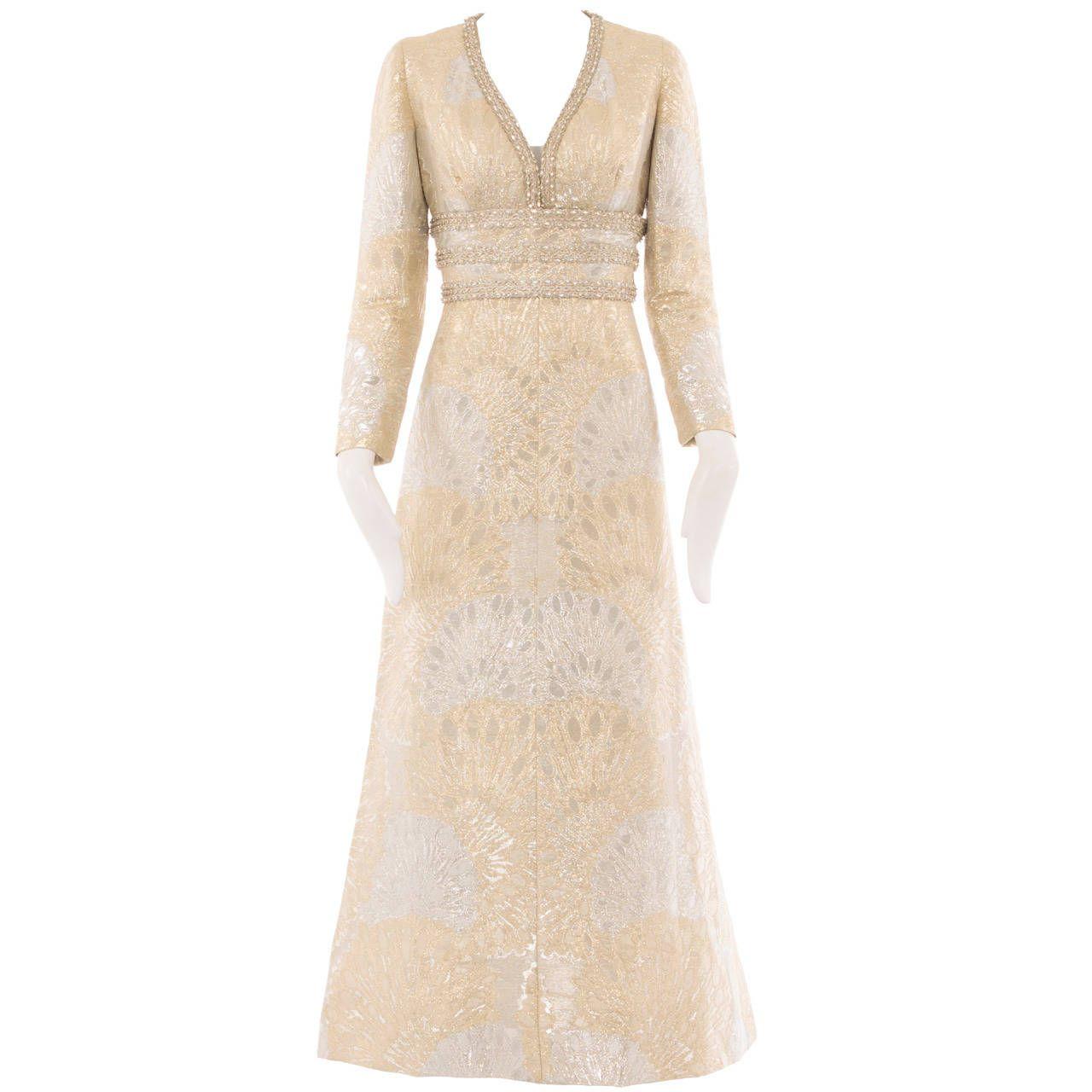 cca7046fcff An Yves Saint Laurent Patron Original dress, autumn winter 1969 | From a  collection of