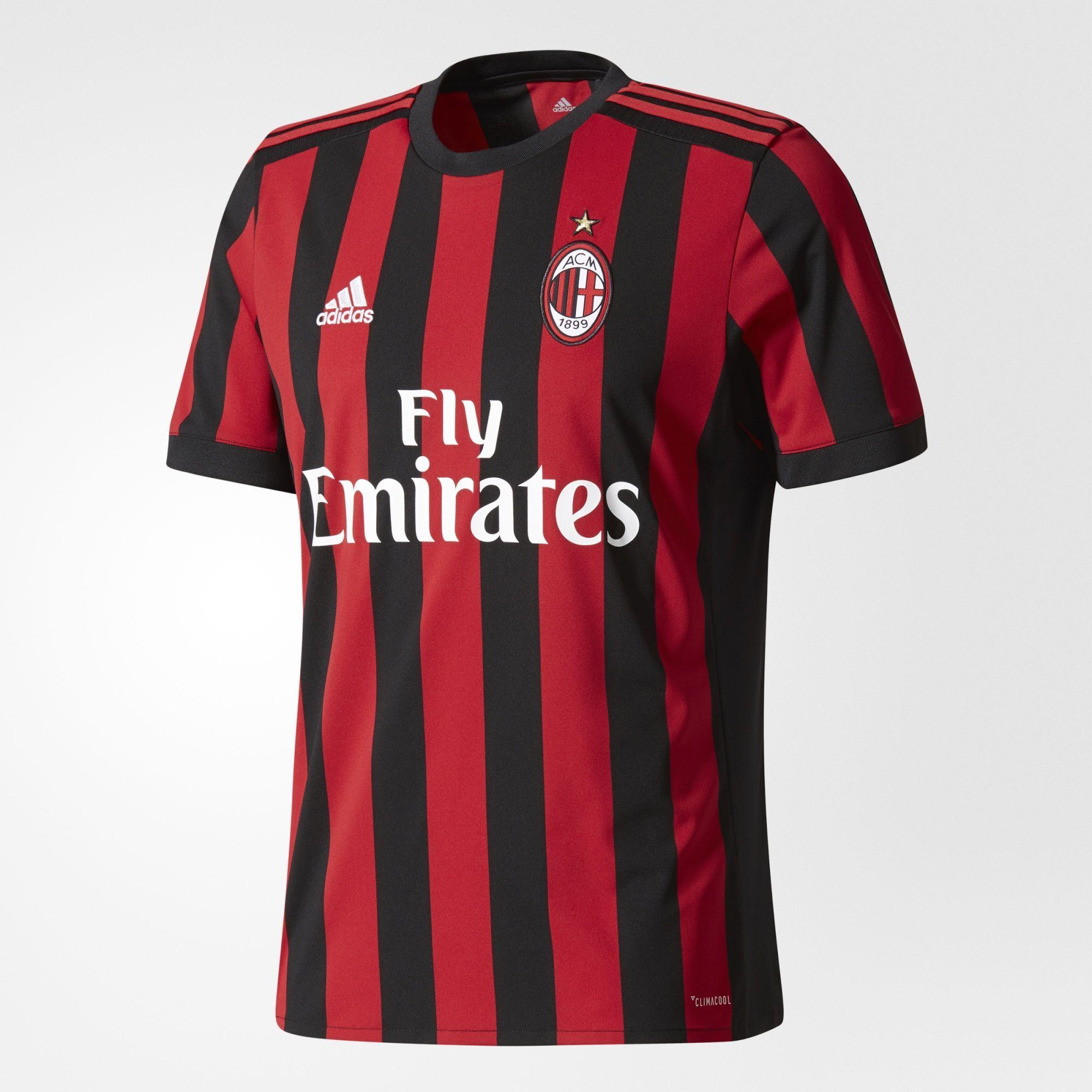 d2d183e4b4310 adidas - Camisa AC Milan 1