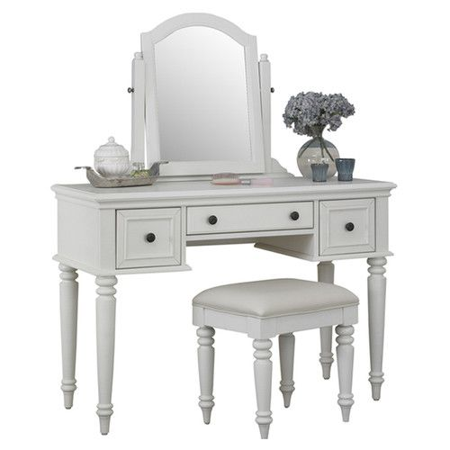 Found it at Wayfair - Kenduskeag Vanity Set with Mirror Bedroom - Bedroom Vanity Table