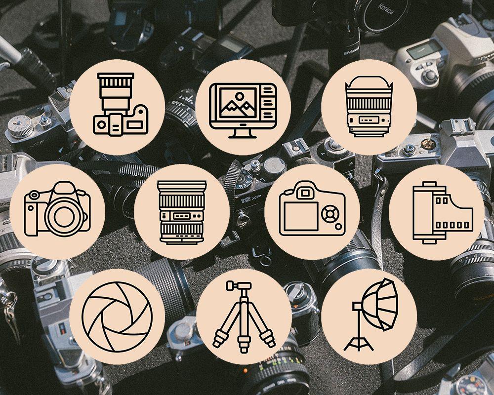 Иконки для фотографа в инстаграм