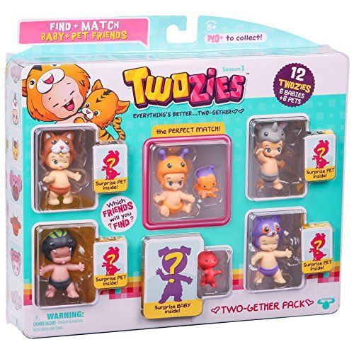twozies mystery packs and playsets
