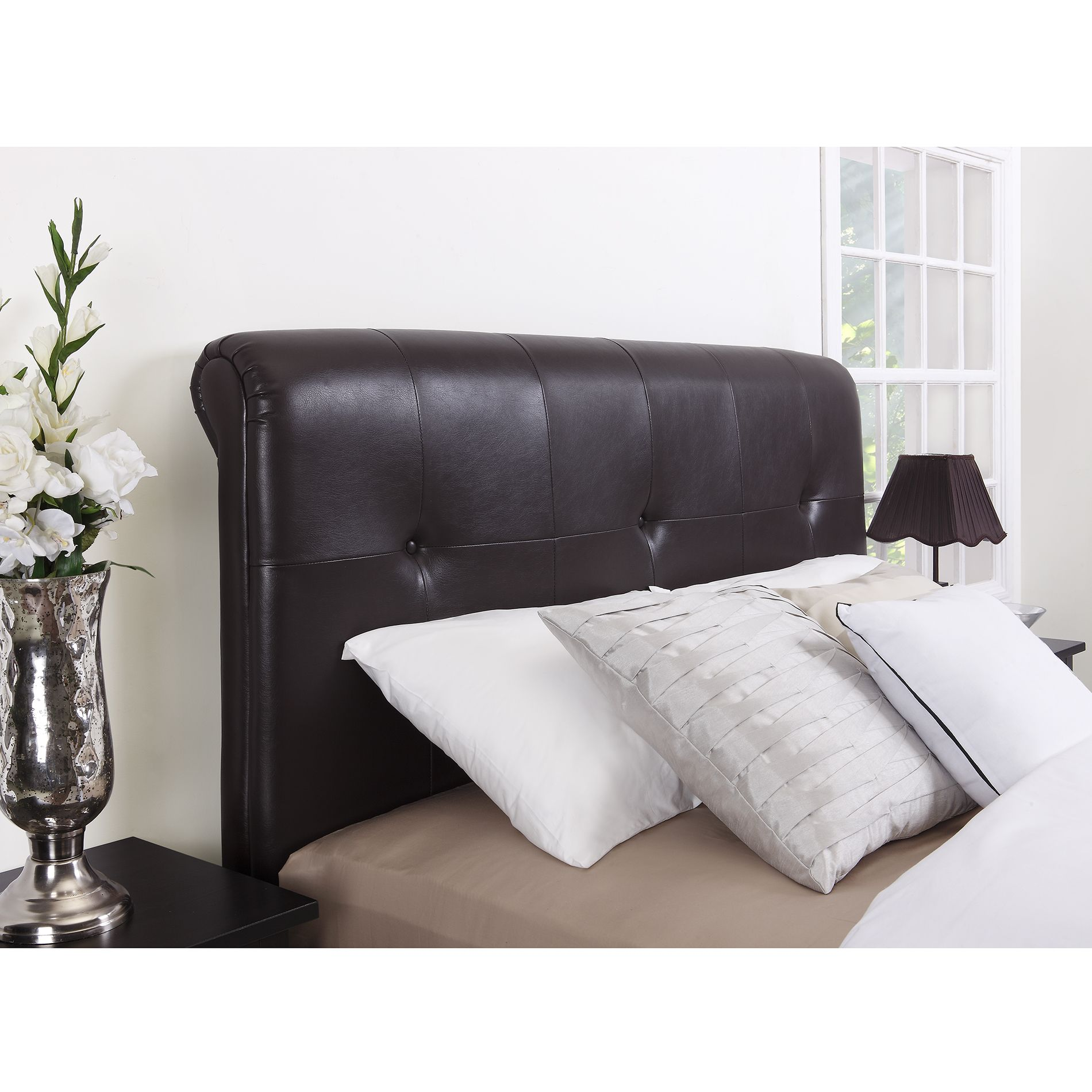 Dorel Signature Mason Brown Headboard - Available in Full/Queen ...