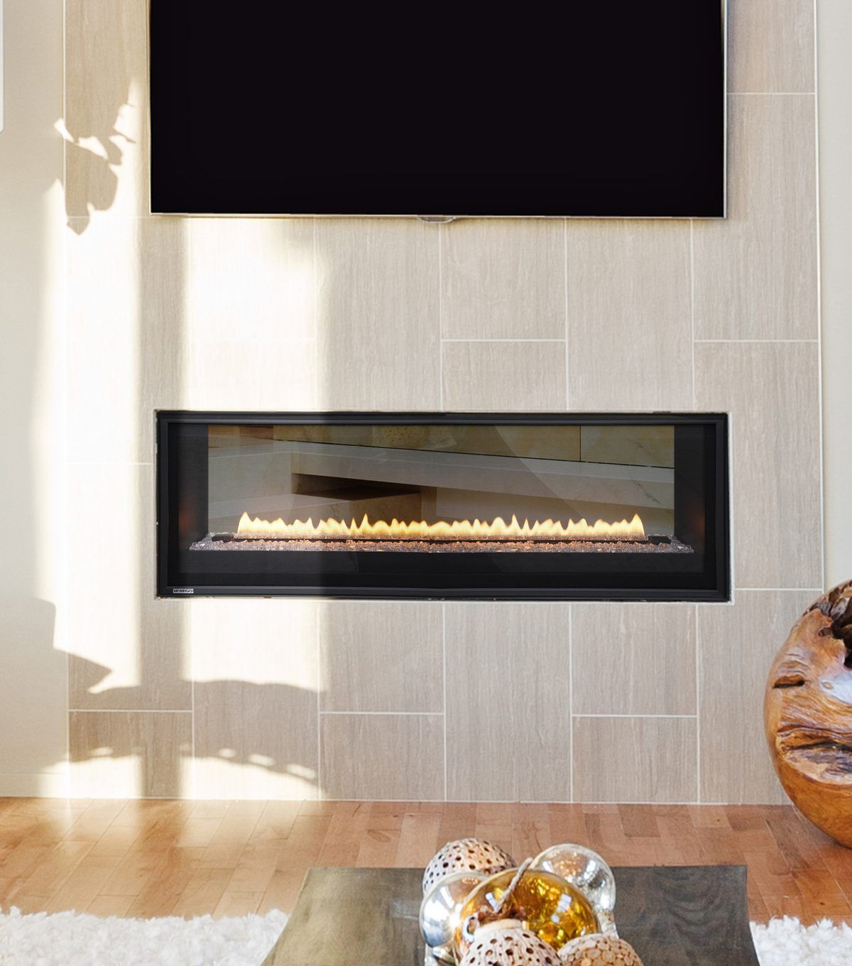 Fireplaces Stoves Grills And Inserts Linear Fireplace Tv