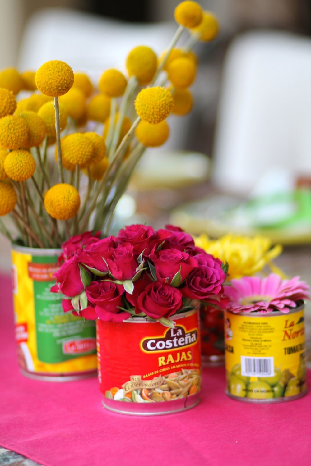 Cinco de mayo decorations flower arrangement celebrate pinterest cinco de mayo - Cinco de mayo party decoration ideas ...