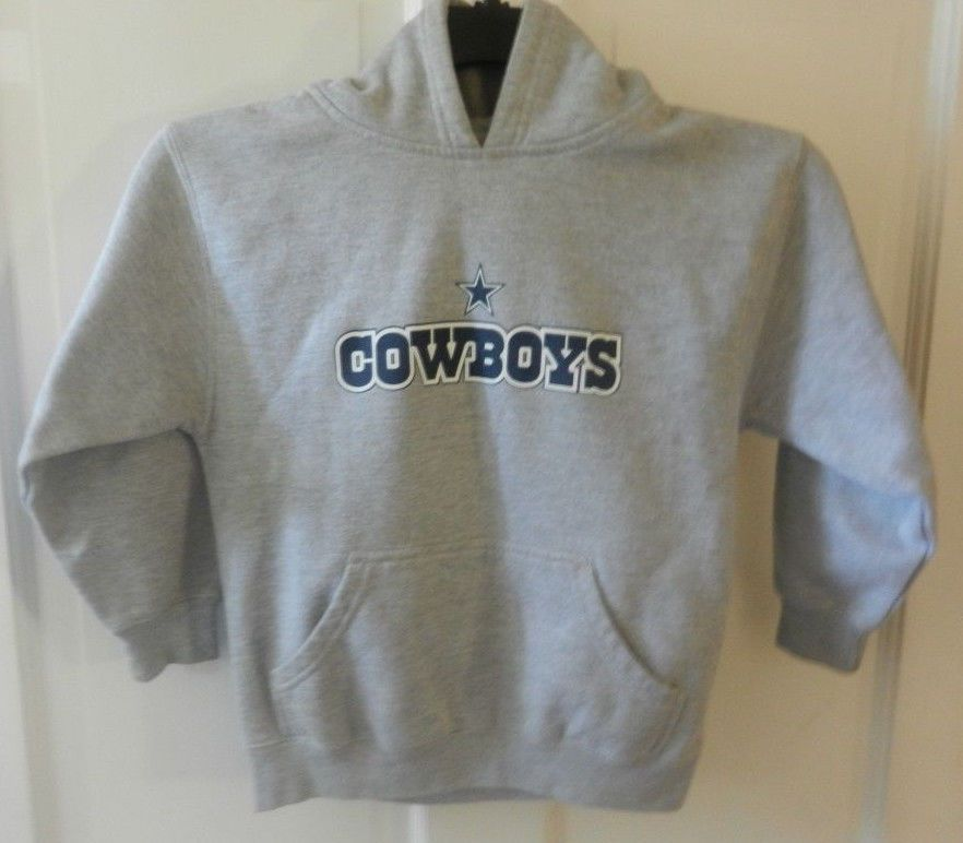 new style 72dfa 741f2 Hoodie NFL Dallas Cowboys Authentic Apparel Gray Pullover ...