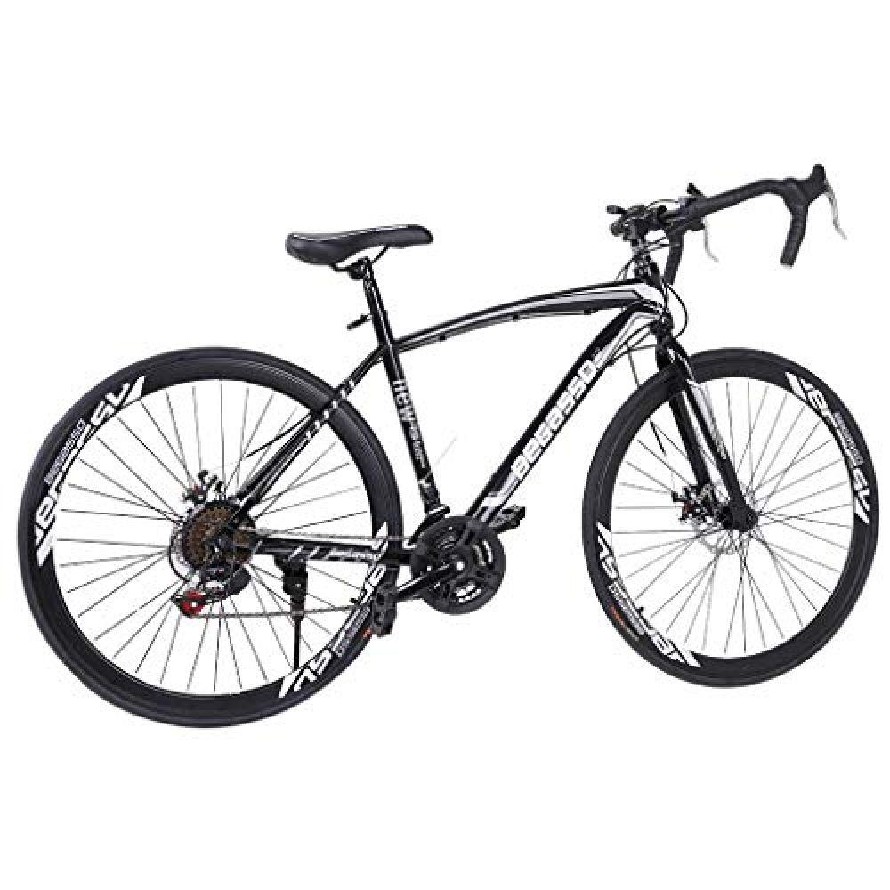 Lroplie R2 Commuter Aluminum Road Bike 21 Speed 700c Wheel