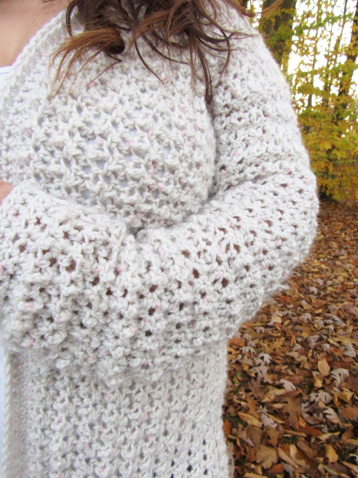 Comfy Cozy Oversized Crochet Cardigan Pattern - Poppy Cardigan ...