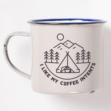 how to make enamel mugs