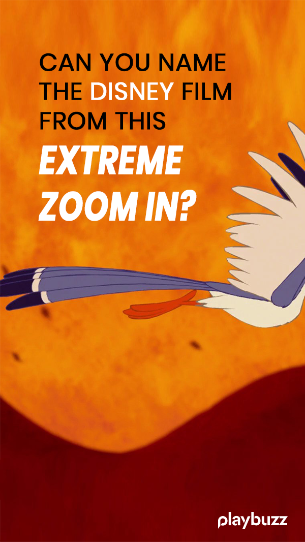 Can You Name The Disney Film From This Extreme Zoom In