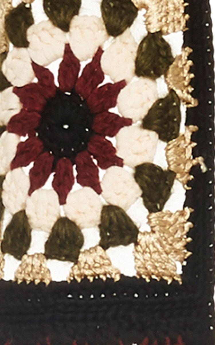 Crocheted Cardigan By Rosetta Getty Daliute Tig Isleri Orgu Motifleri Orgu Projeleri
