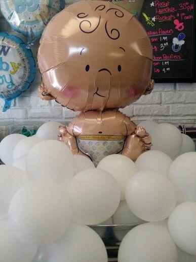Rub a Dub Dub.....Baby in a Tub Centerpiece By Prudence   Balloon ...