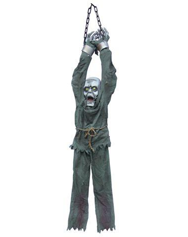 Shackled Ghoul Prisoner #halloween decorations Halloween