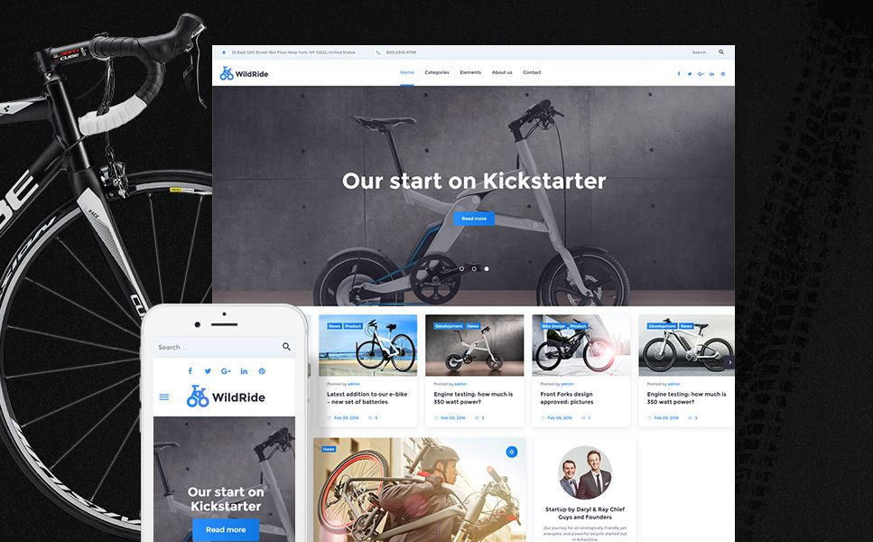 wildride sports bicycle wordpress theme wordpress. Black Bedroom Furniture Sets. Home Design Ideas