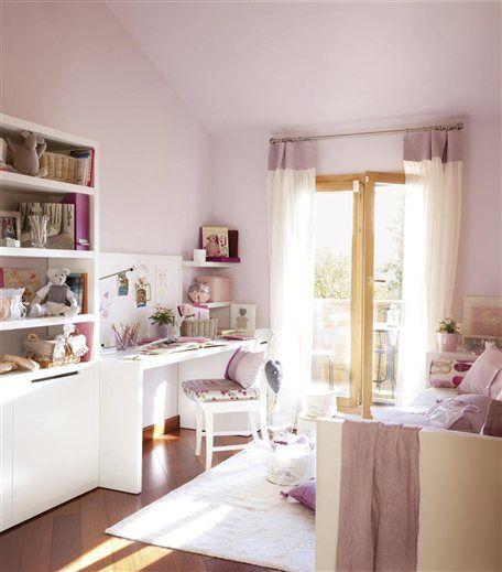 Cuartos de ni os de la revista el mueble cortinas for Muebles habitacion infantil nina