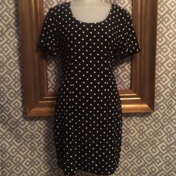 My Michelle dress; black & white polka dot Black dress with white polka dots. Super cute! My Michelle Dresses