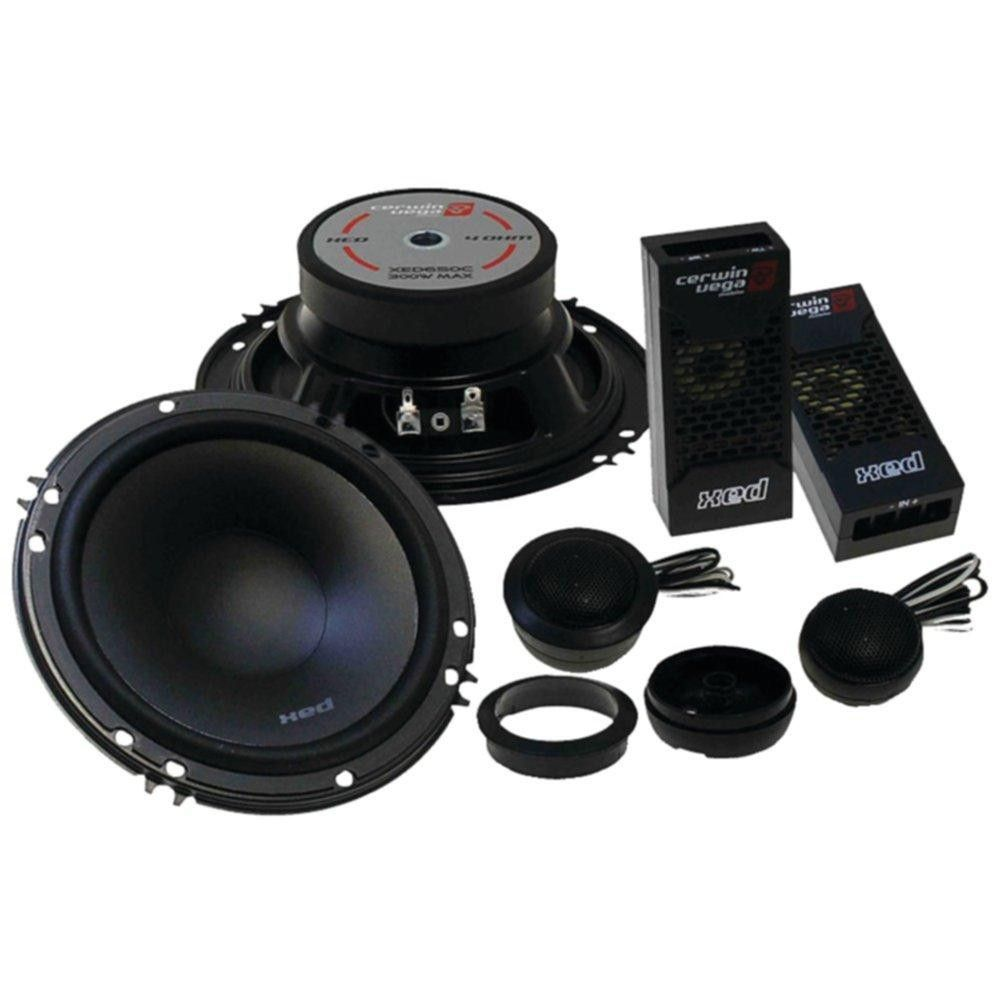 Cerwin Vega Mobile Xed525c Xed 525 2 Way Component Speakers 250 Watt Rms 4channel Car Amplifier Amp Wire Kit Audio Savings Products