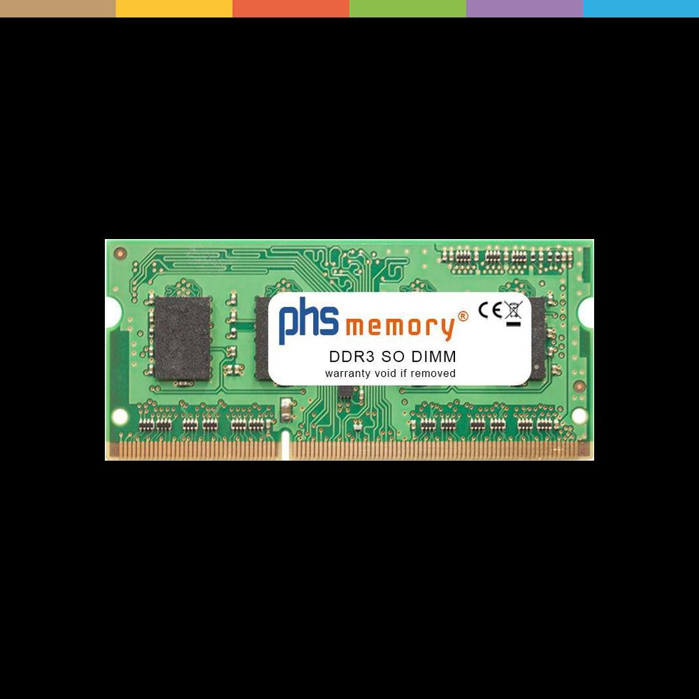 PHS-memory 4GB RAM Speicher für Toshiba Satellite L50-B-1NZ DDR3 SO DIMM 1600MHz PC3L-12800S (SP205432).
