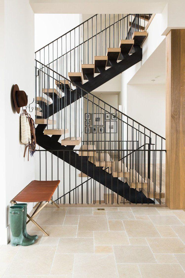 Home interior railings mountain home perfection  lark u linen  escaliers  pinterest