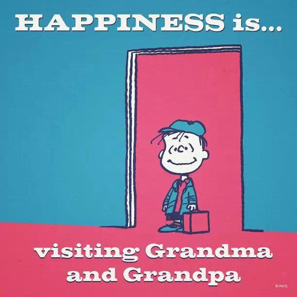 Visiting grandma and grandpa