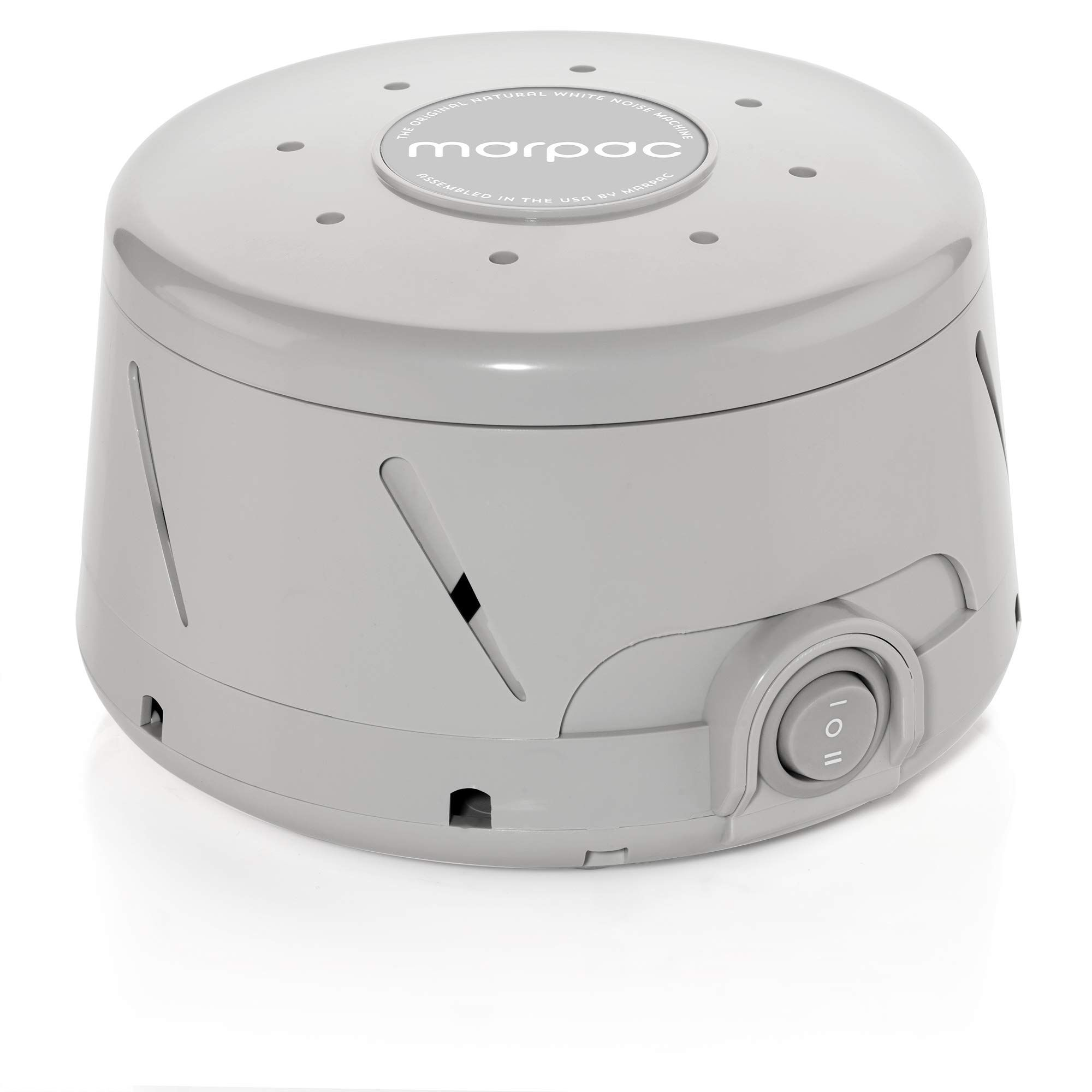 Marpac Dohm Classic Gray The Original White Noise Machine Soothing Natural Sound From A Real Fan Noise Cancelling Sleep Therapy Office Privacy Trave In 2020