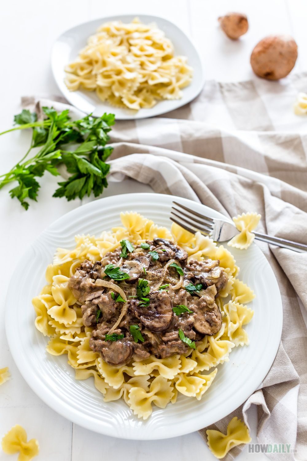 Dairy Free Beef Stroganoff Without Sour Cream Recipe Beef Stroganoff Beef Recipes Beef