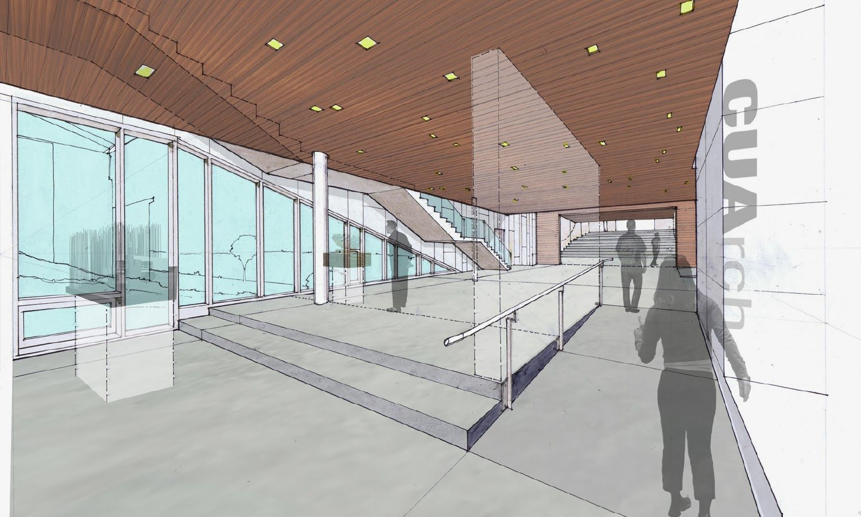 Lewis Tsurumaki Lewis Interior Renderings Ltl architects