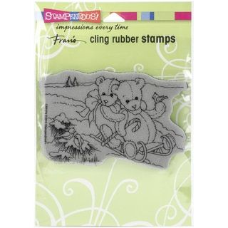 Stampendous Christmas Cling Rubber Stamp 6.5inX4.5in SheetBethlehem Night - 17589489 - Overstock.com Shopping - Big Discounts on STAMPENDOUS Clear & Cling Stamps
