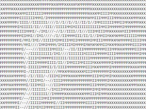 jQuery Based Image/Video To ASCII Art Converter - abc js