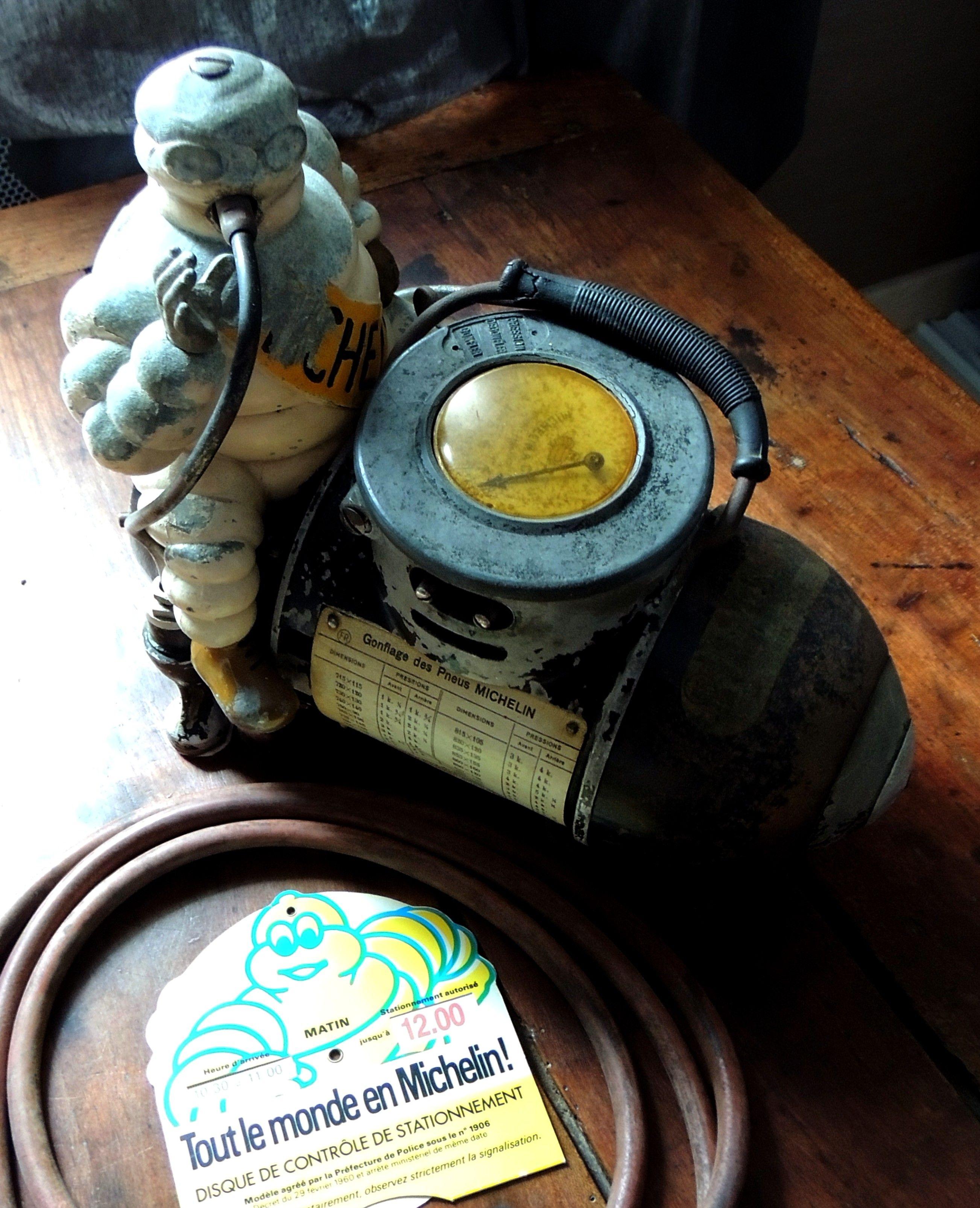 Compresseur gonfleur Michelin man air compressor bibendum