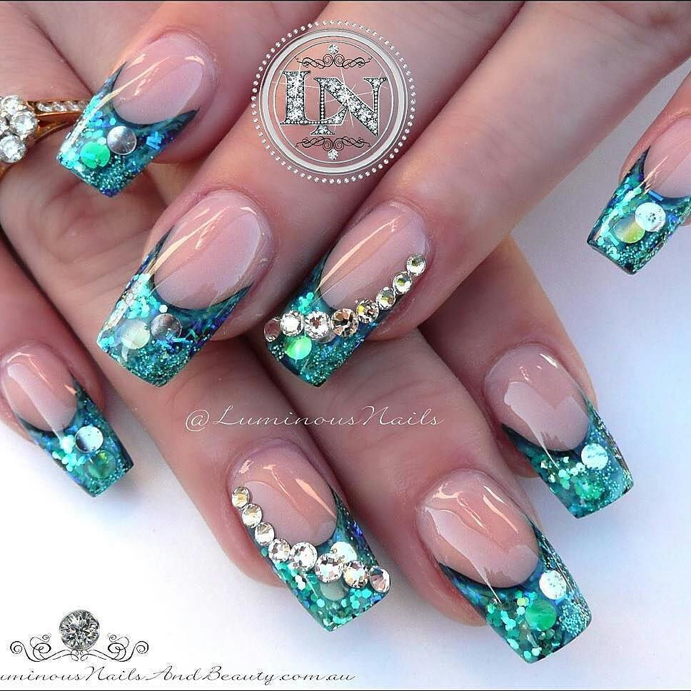 Beautiful Nails By Luminousnails Swan Nails Page Is Dedicated To