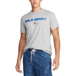 T-Shirt mit Frontprint, Classic Fit von Polo Ralph Lauren in Grau für Herren Ralph LaurenRalph Laure #oldtshirtsandsuch