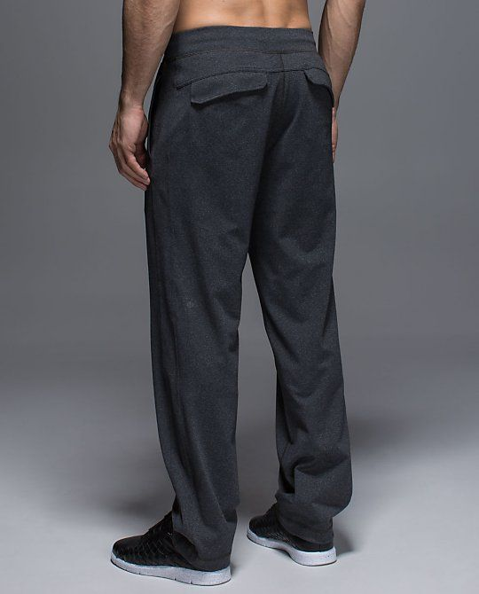 56f9e50f0e Lululemon Men's Kung Fu Pant 2.0 in Heathered Black. | Daniel | Kung ...