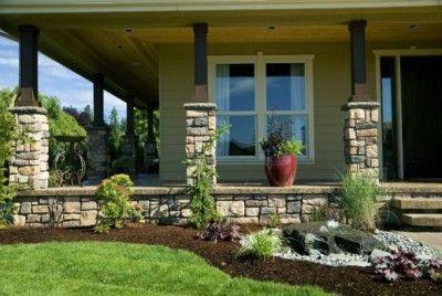 Dise os de jardines para casas peque as jardines for Porches de casas pequenas