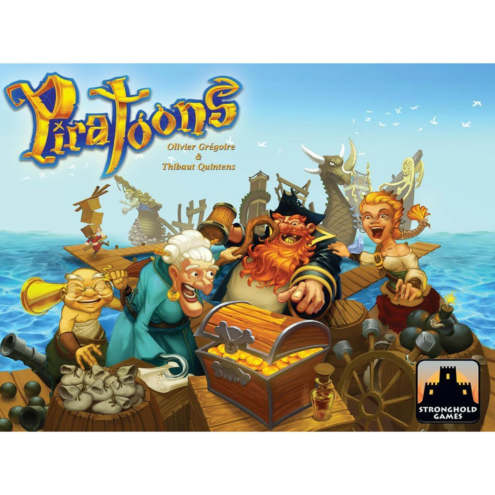 Piratoons The Board Game Board games, The end game, Pirates
